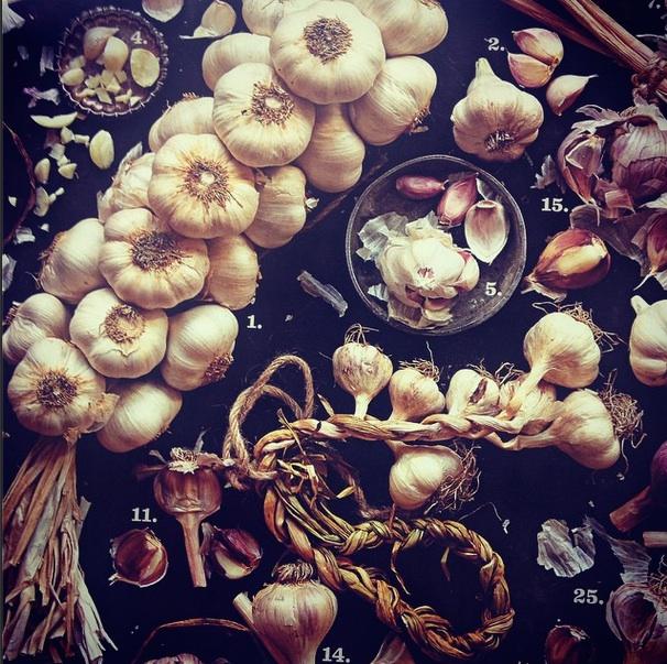 Photo Credit: Saveur Magazine. For more garlic love, visit: http://www.saveur.com/article/ingredients/types-of-garlic