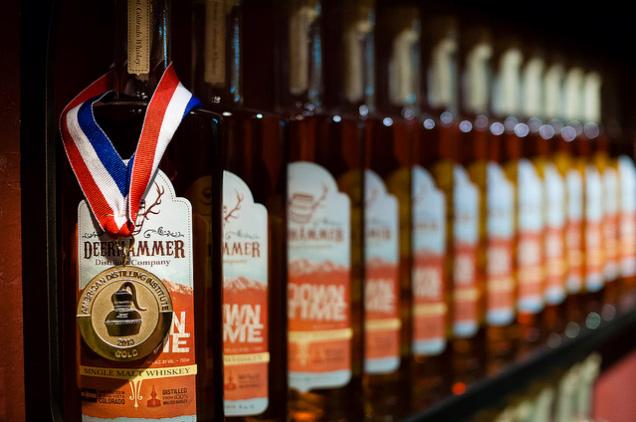deerhammer distillery // website copy, PRODUCT LABELS
