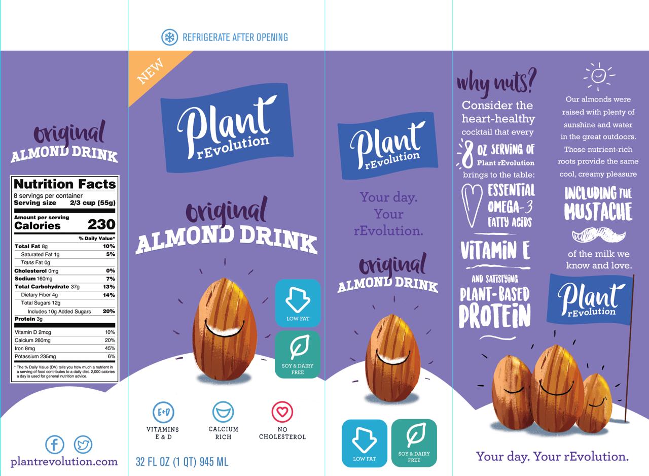 plant revolution // product descriptions, packaging copy