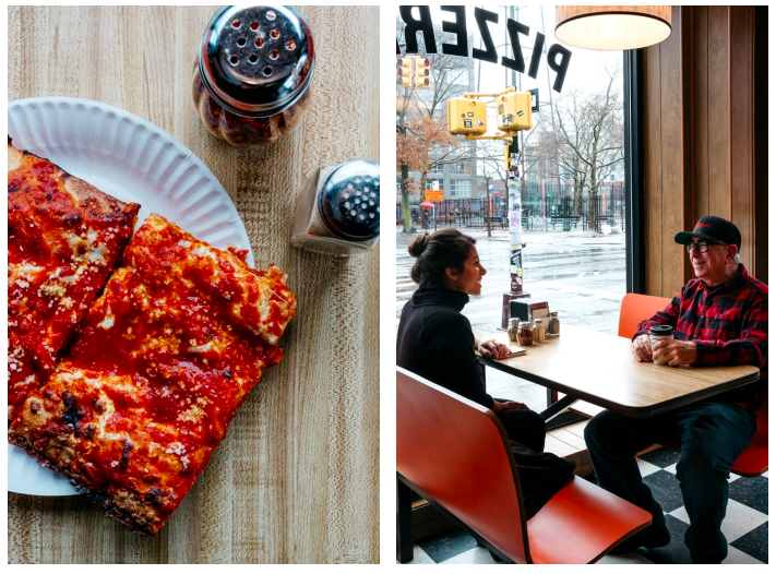 "The ""Freddy Prince"" square pie at Paulie Gee's Slice Shop 