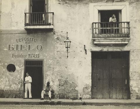 """Old Havana Housefronts"" by Walker Evans, 1933. From  here ."