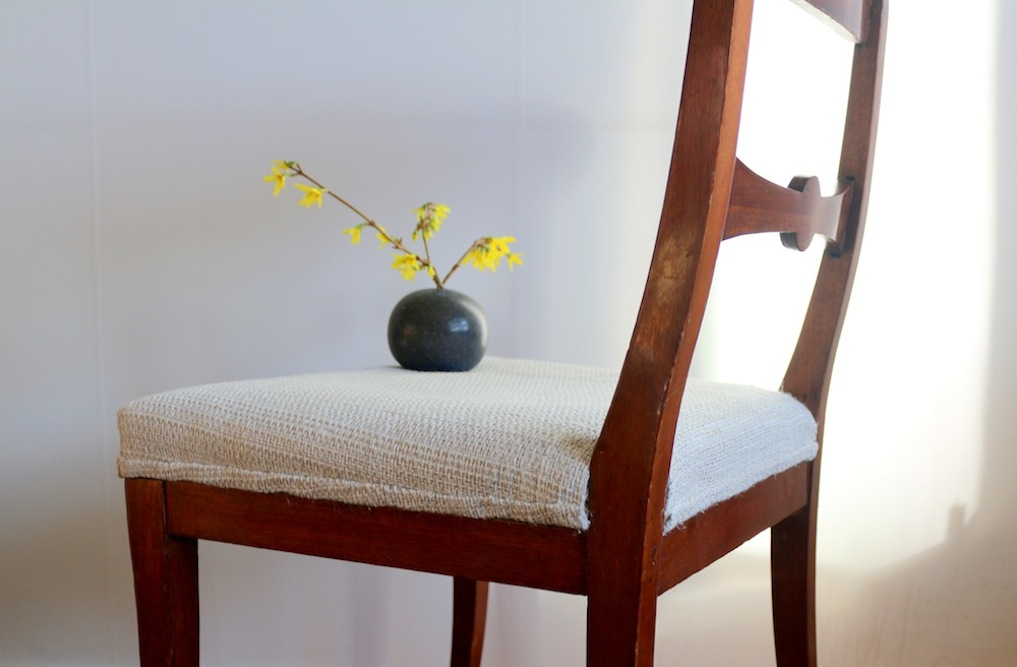Chair, handwoven