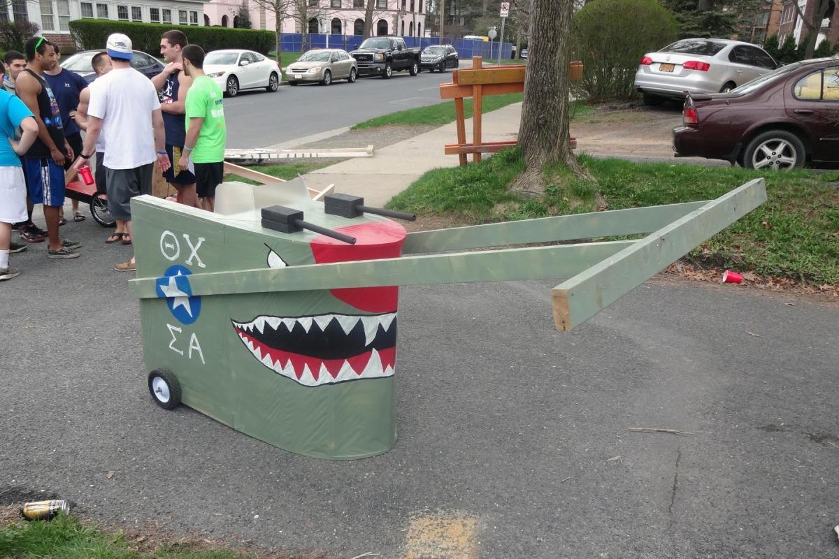 Greek Week Chariot