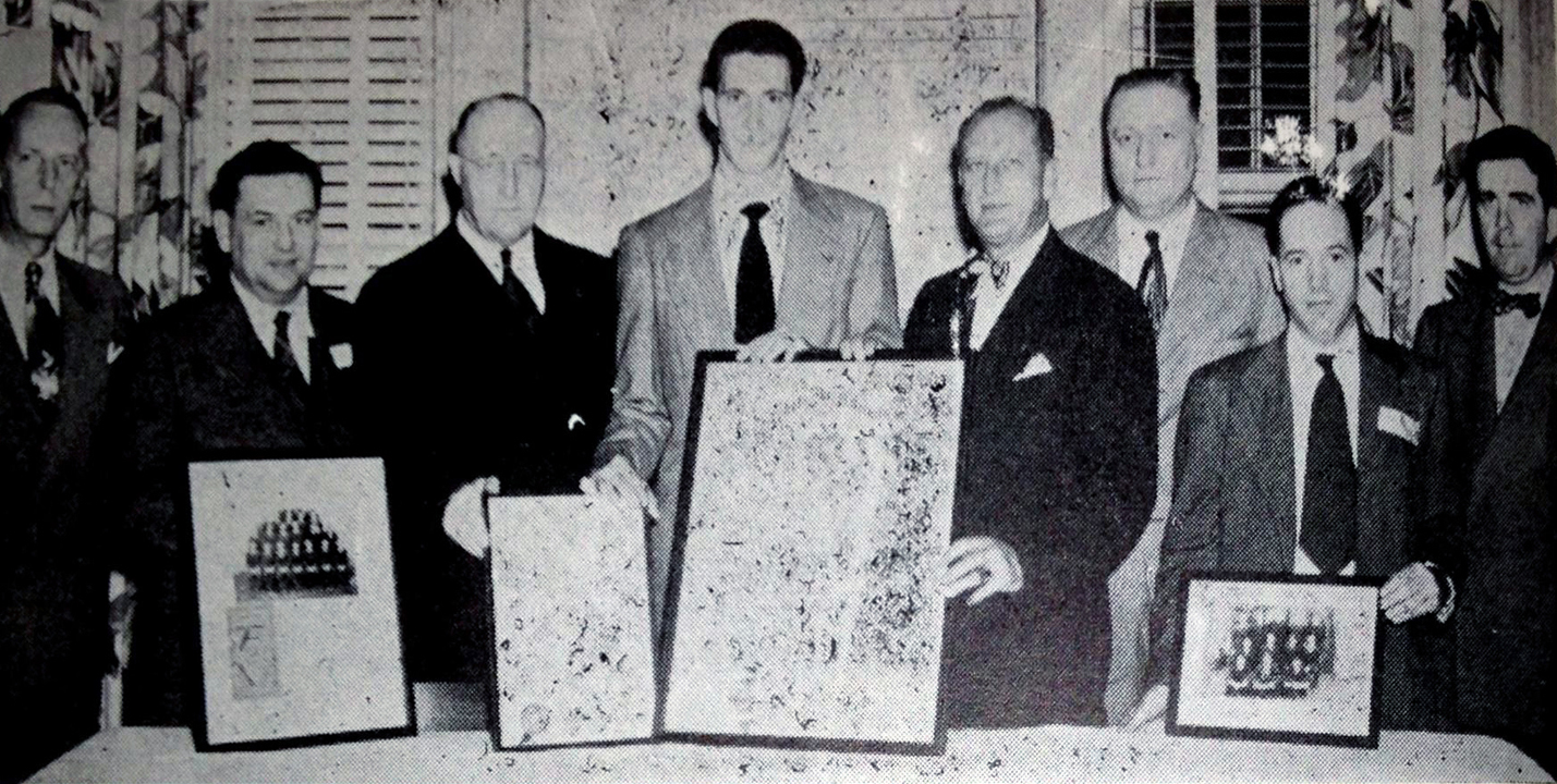 October 22, 1949 - Alpha Eta Chapter at the University of North Carolina installation