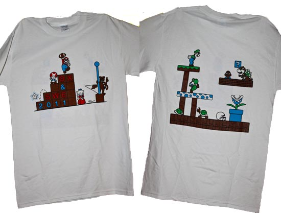 1st place Homecoming T-shirt - 2011