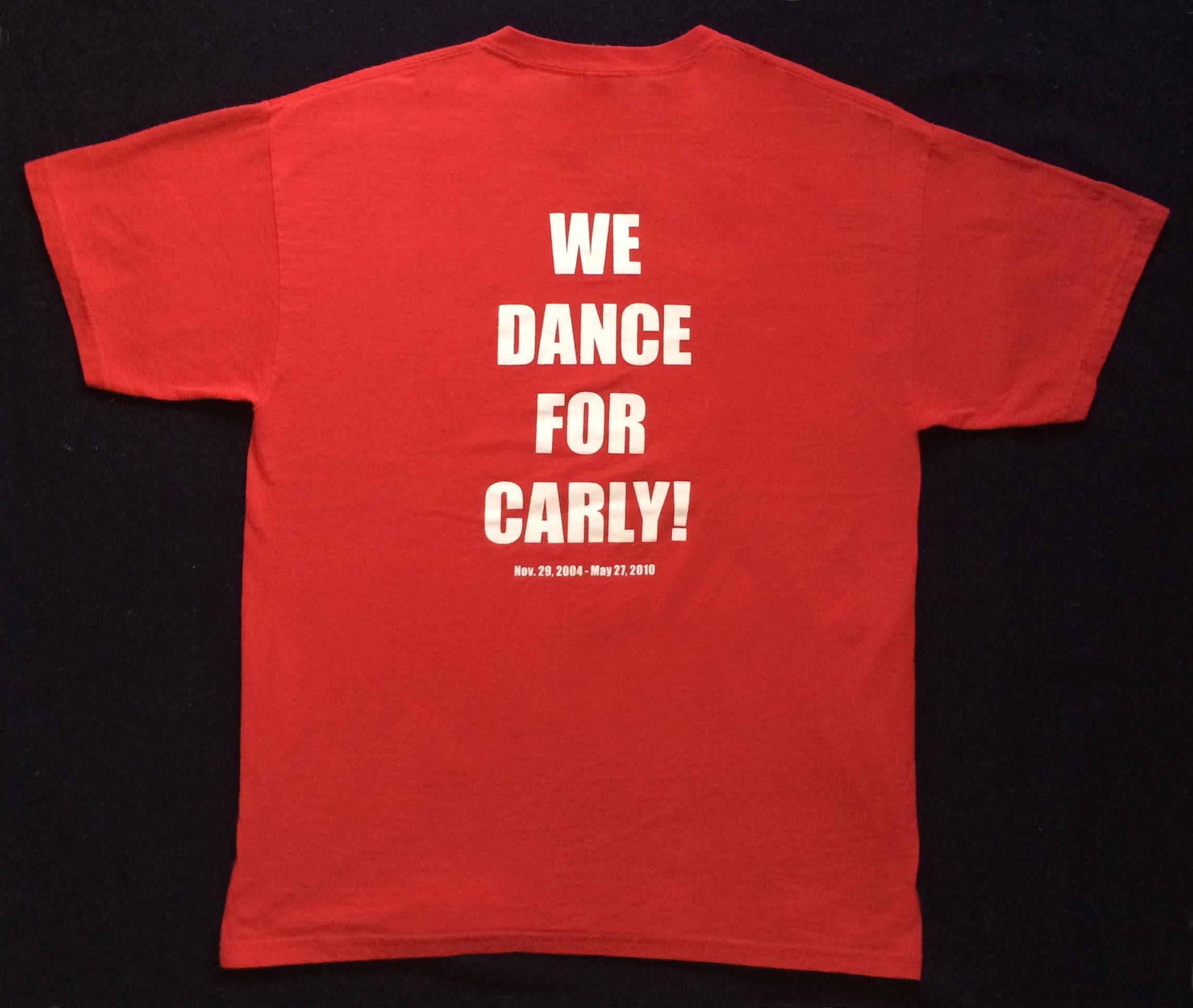 2011 THON T-Shirt (Back) - Feb. 18, 2011
