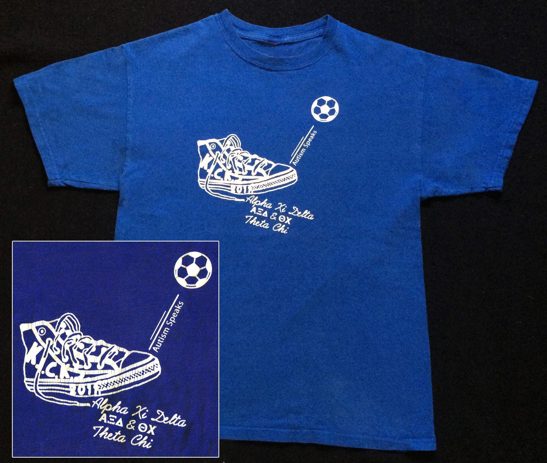 2011 K.I.C.K.S T-Shirt (Front) - Nov. 5, 2011