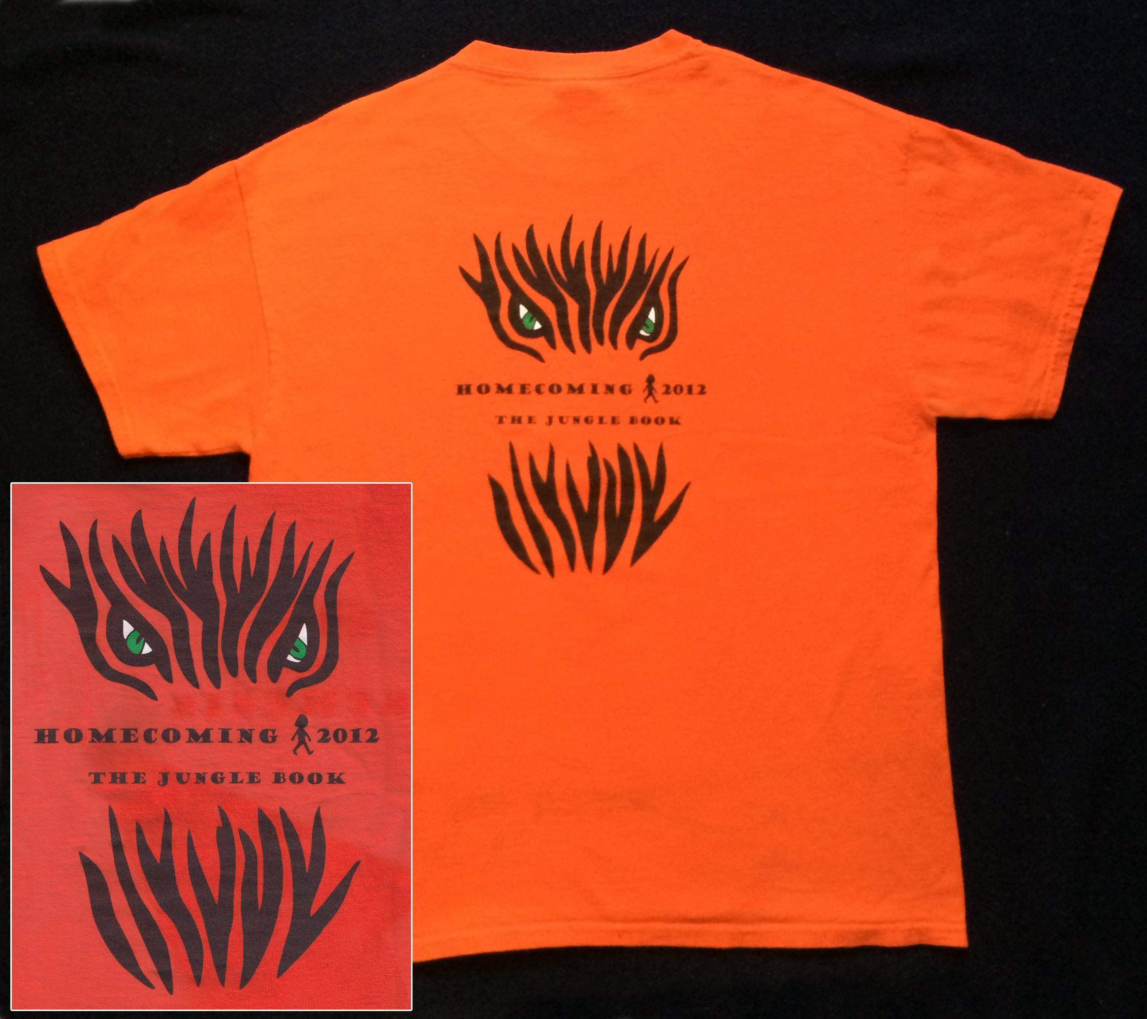 2012 Homecoming T-Shirt (Back) - Oct 6, 2012