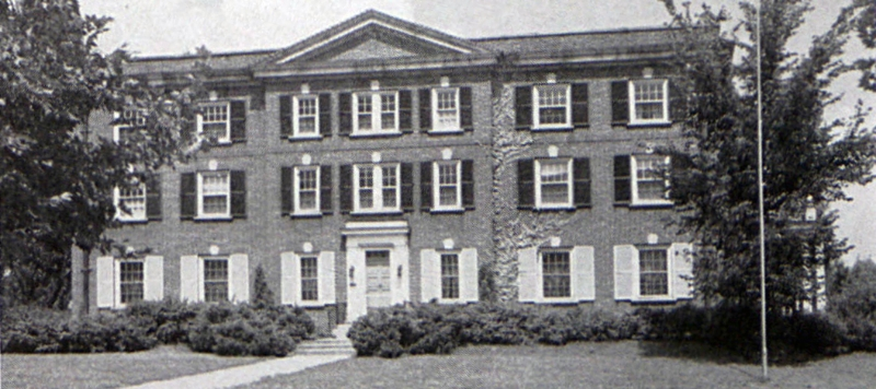 Chapter House in 1940 as it appeared in LaVie
