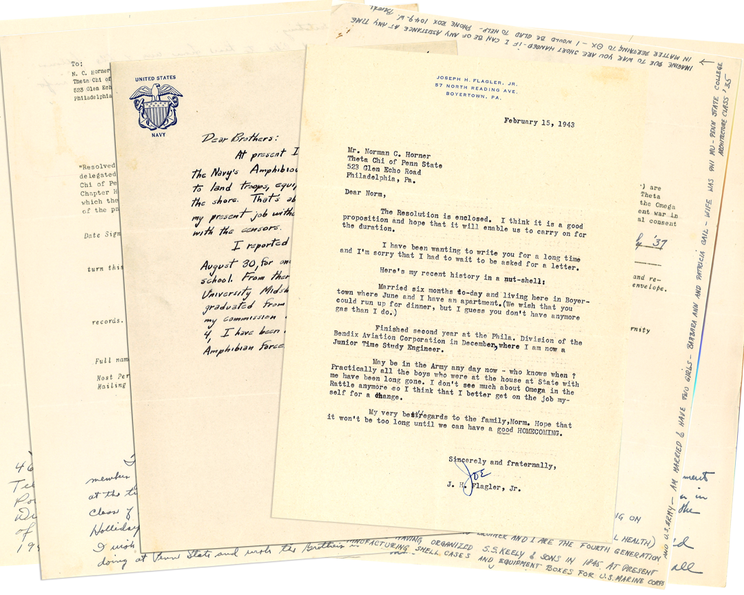 Click to download PDF of the letters