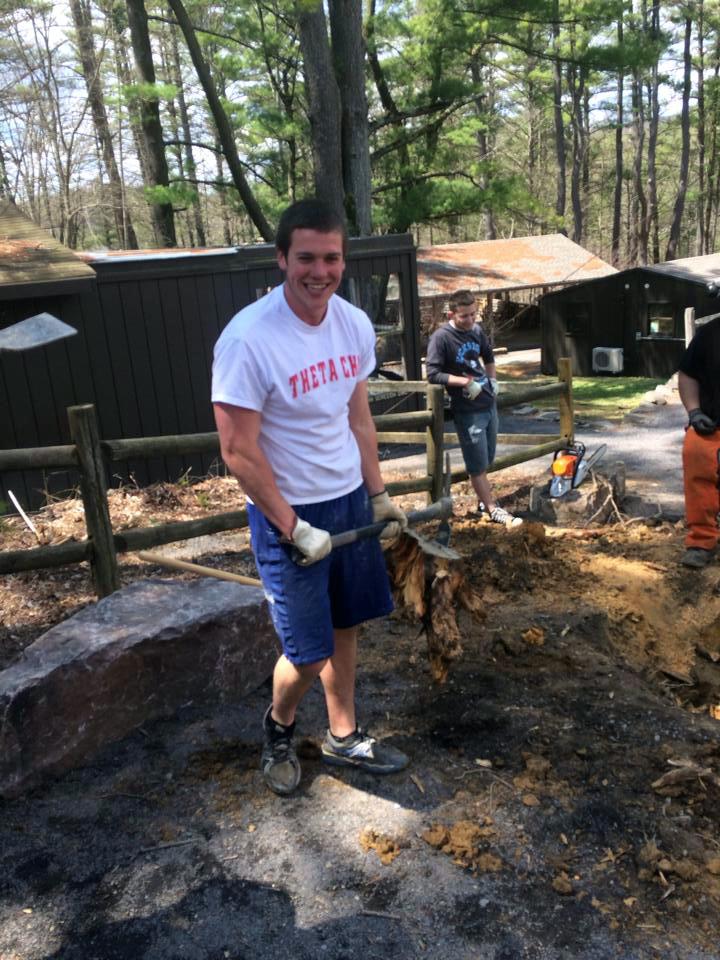 Ryan Gattoni and Sam Kulp at Shavers Creek - April 2014