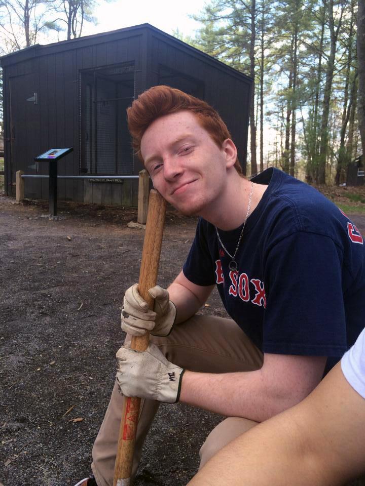 Ryan Campbell at Shavers Creek - April 2014