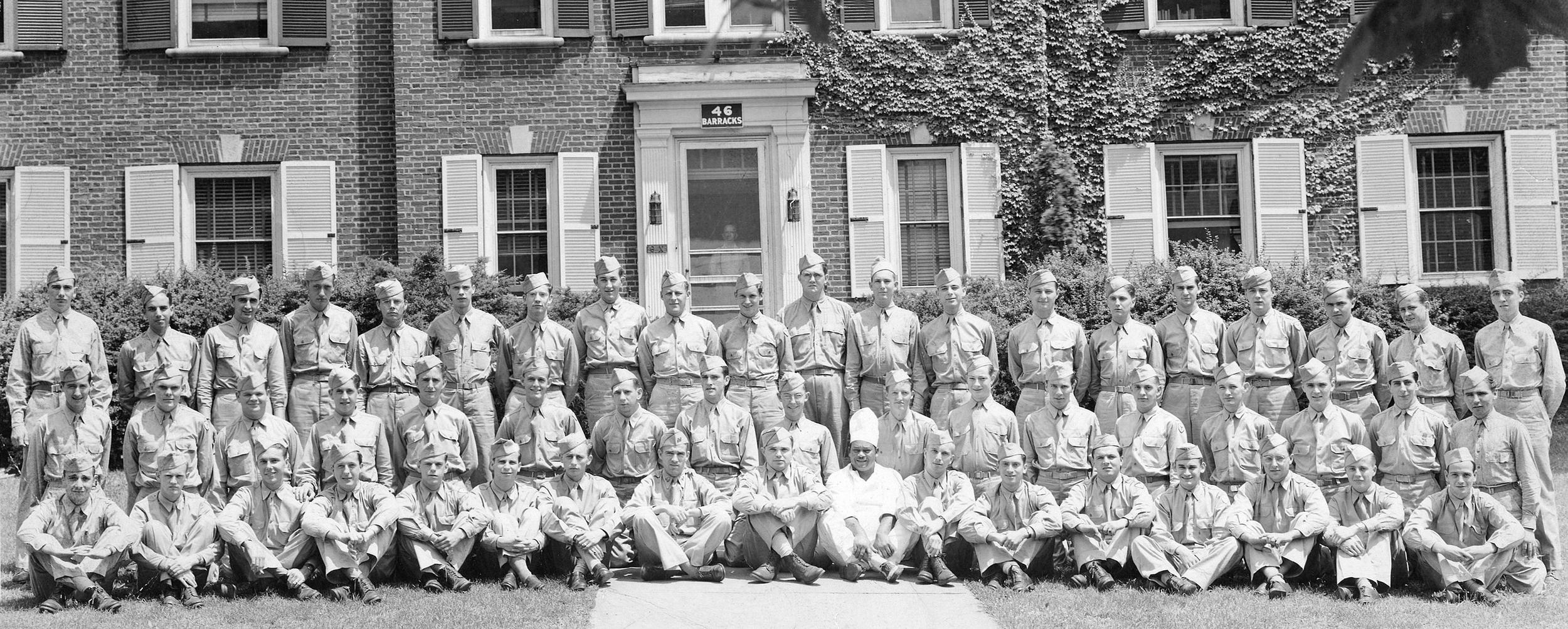 523 South Allen St.used as a Amry Barracks - Barracks 46 -circa 1940's