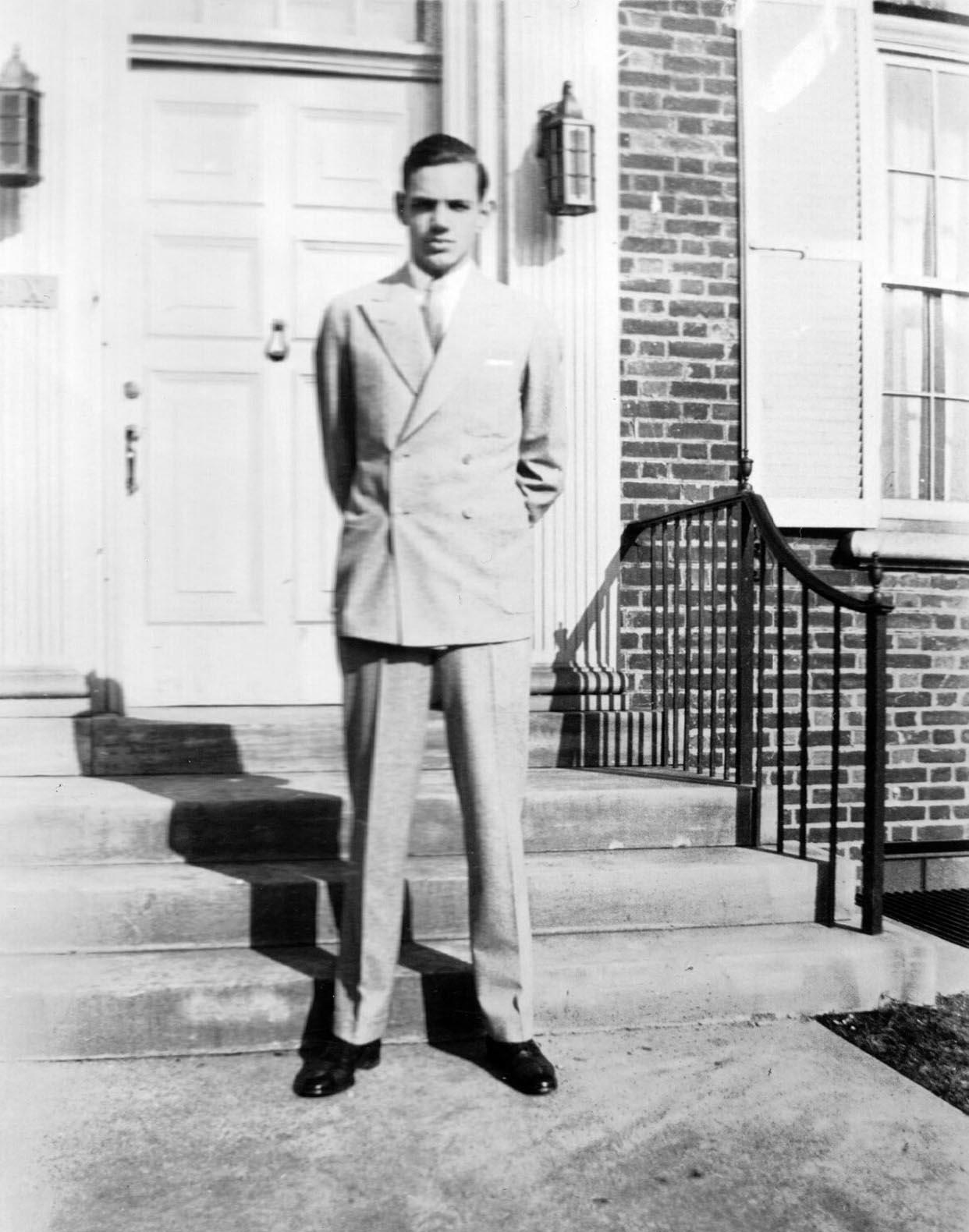 Leonard P. Deubler 1935