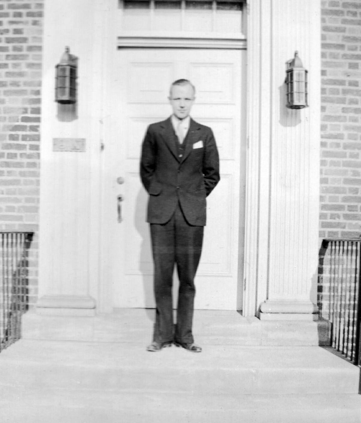William A. Lange 1935