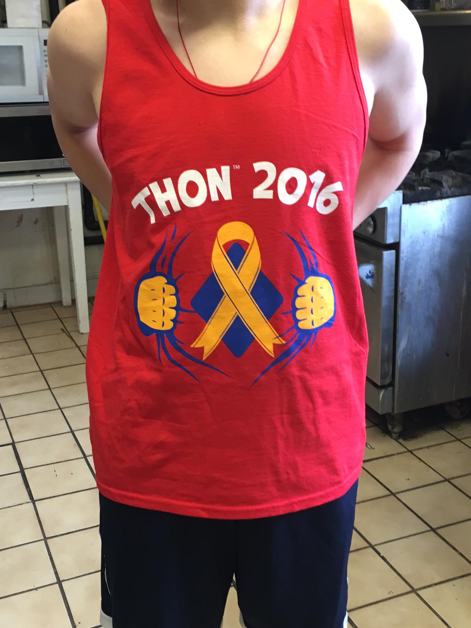 2016 THON T-Shirt (Front)