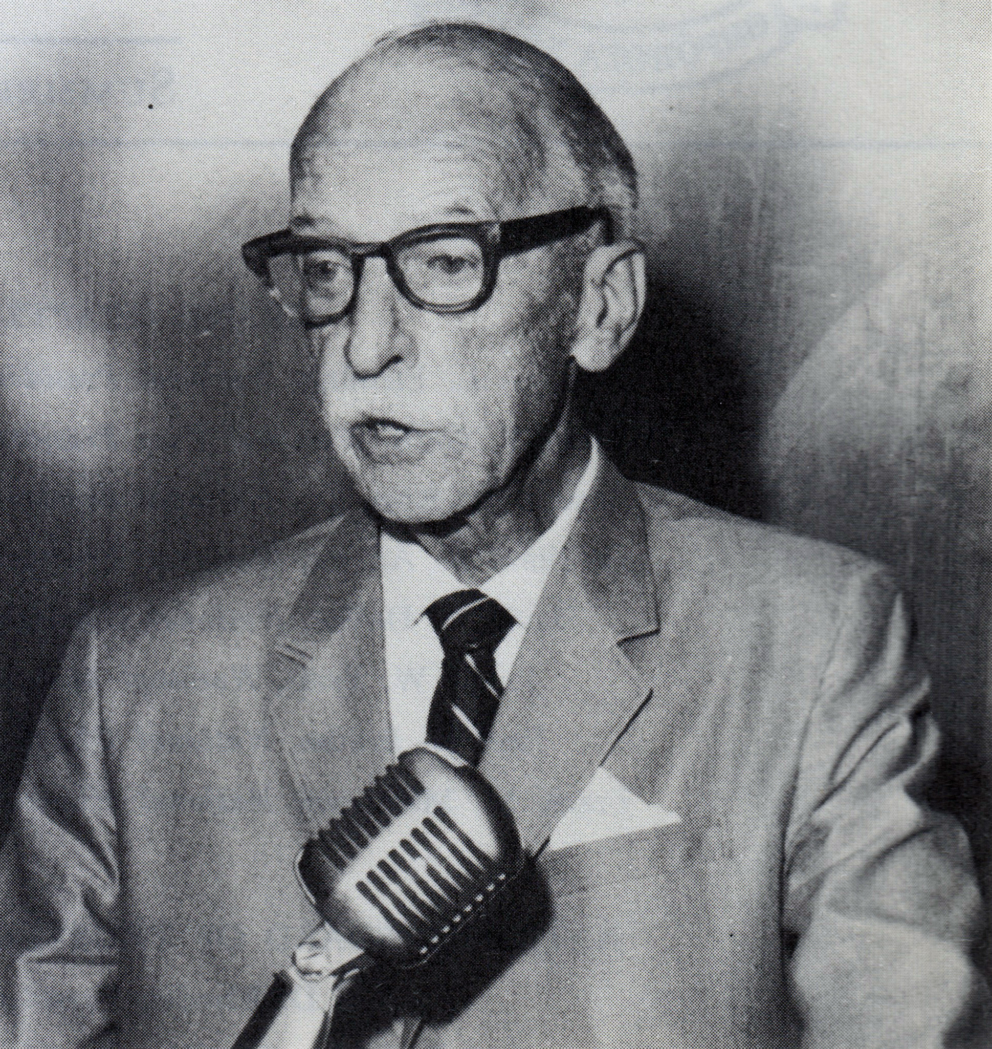 George W. Chapman, Executive Director Emeritus, circa 1968