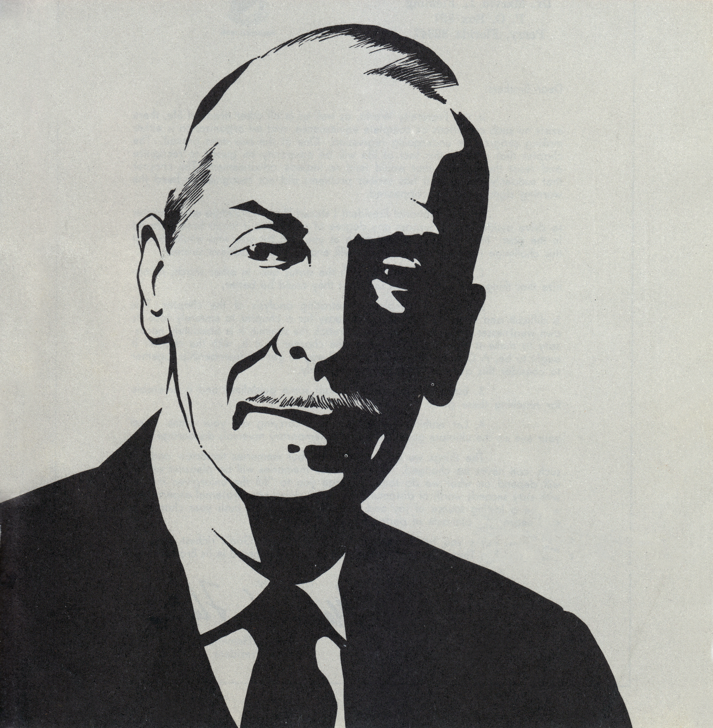 Cover Image of George W. Chapman from the Summer 1968 Rattle