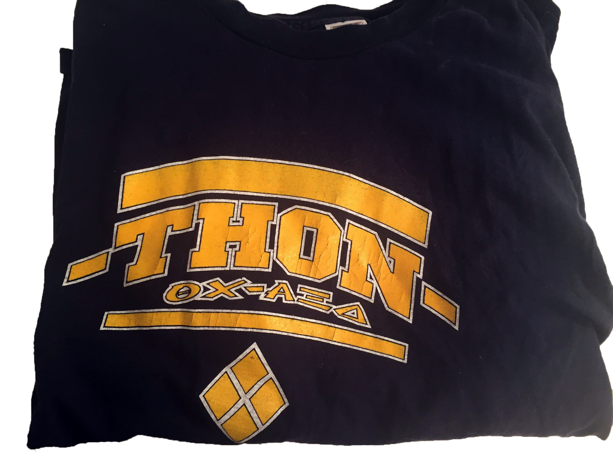 Theta Chi and Alpha Zeta Delta 2000 THON T-Shirt - Front