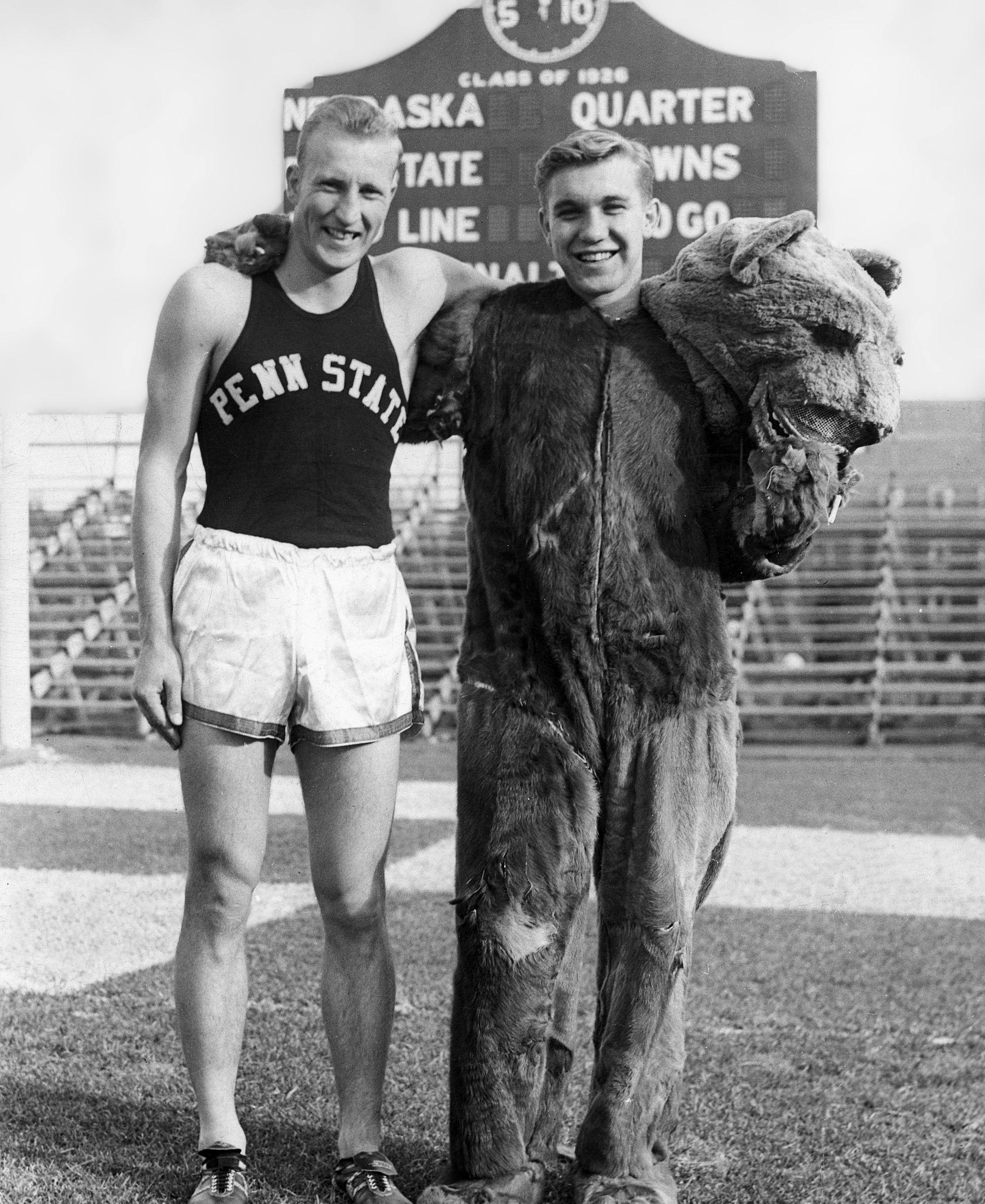 Jack Horner (L) and Alex Gregal - 1953