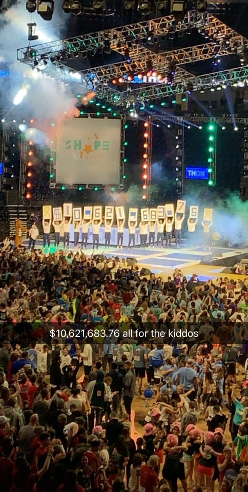 2019 THON - Fundrasing Total Reveal