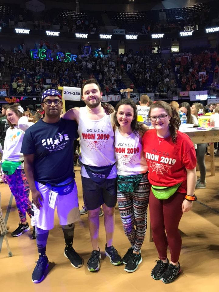 2019 THON - Kawsar and Dancer Jordan