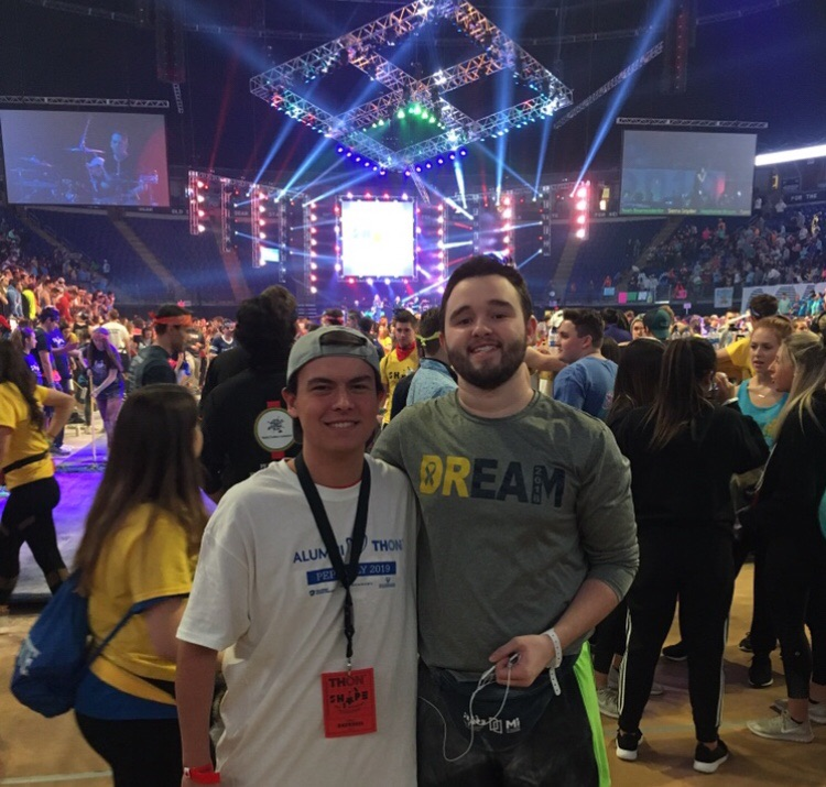 2019 THON - Kyle and Dancer Jordan
