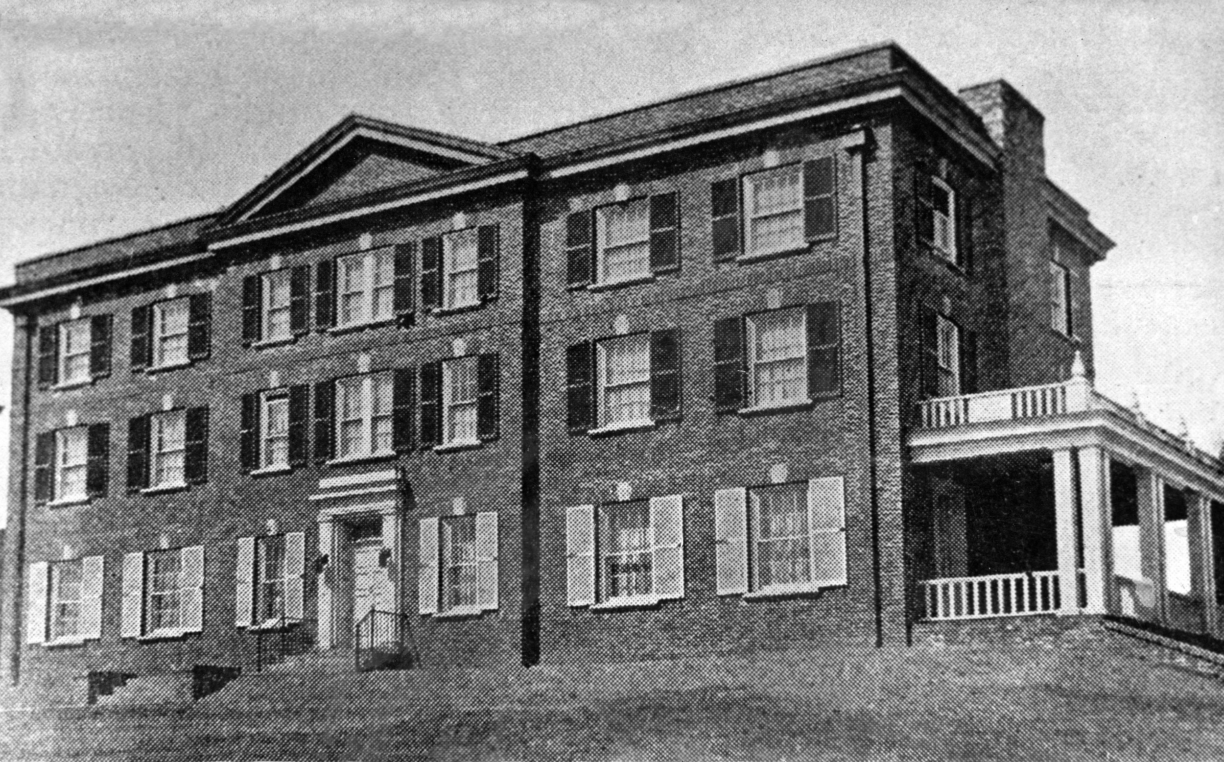 523 South Allen St. - Omega's New Home - as appeared in the March 1933 The Rattle