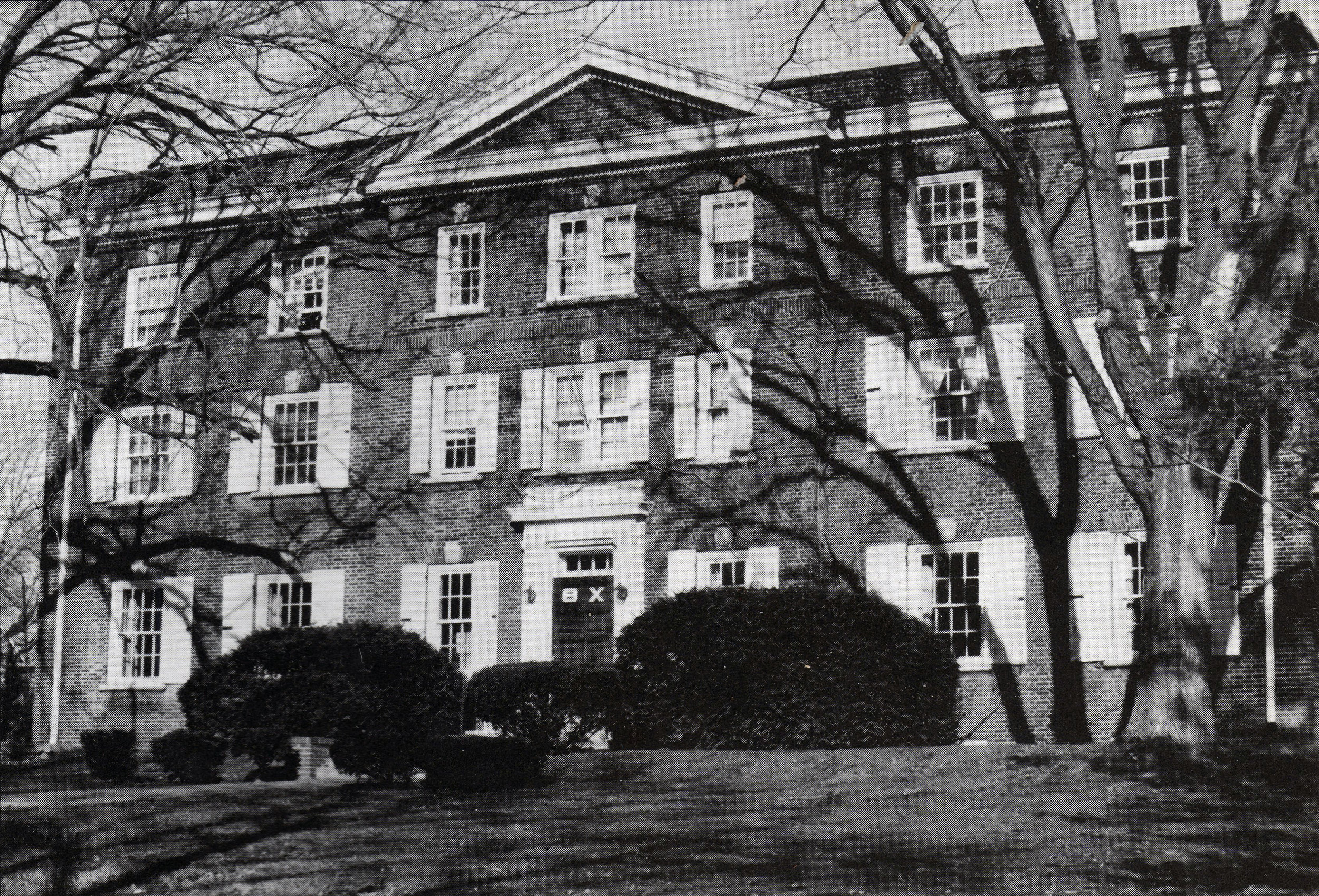 The House as it appeared in