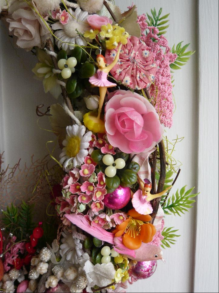 Passementerie Wreath, detail