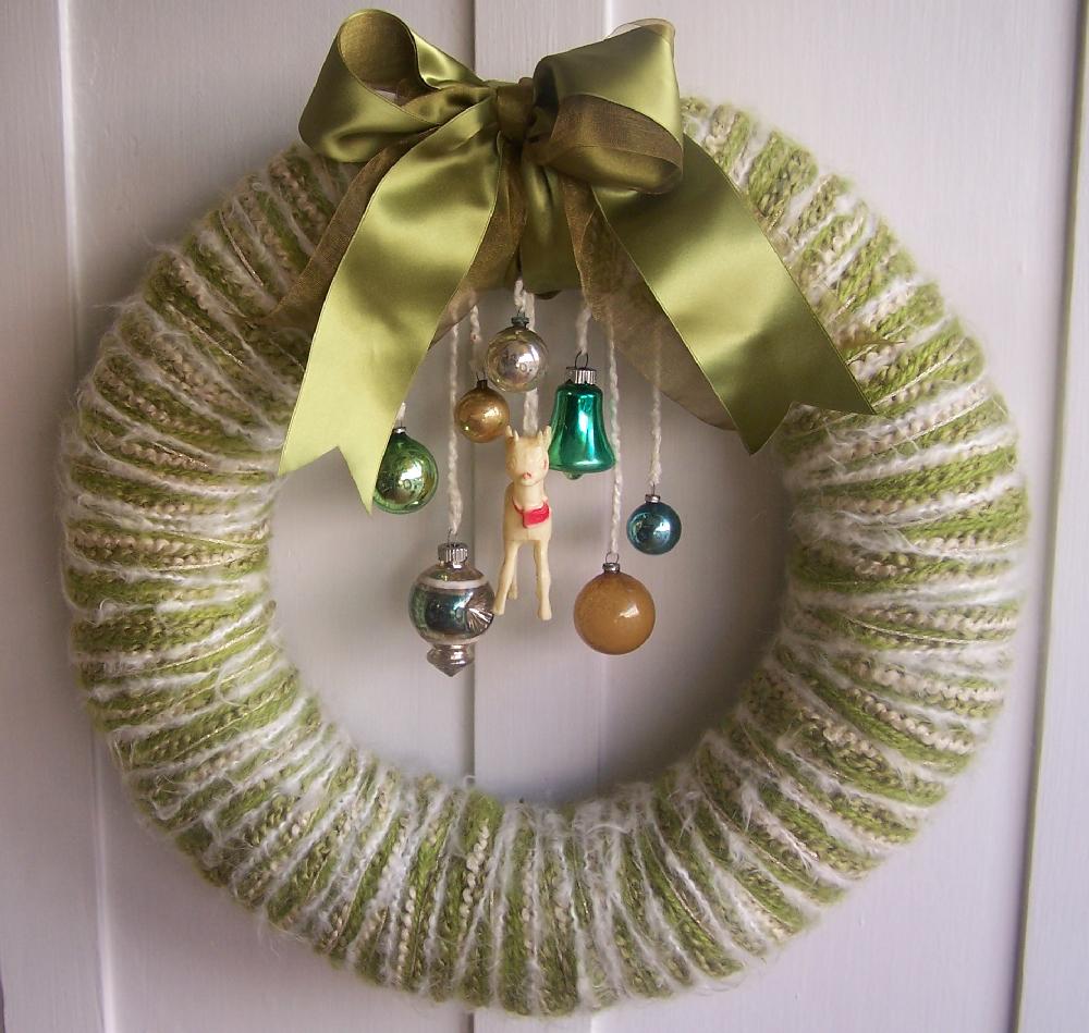 Doe & Baubles Yarn Wreath