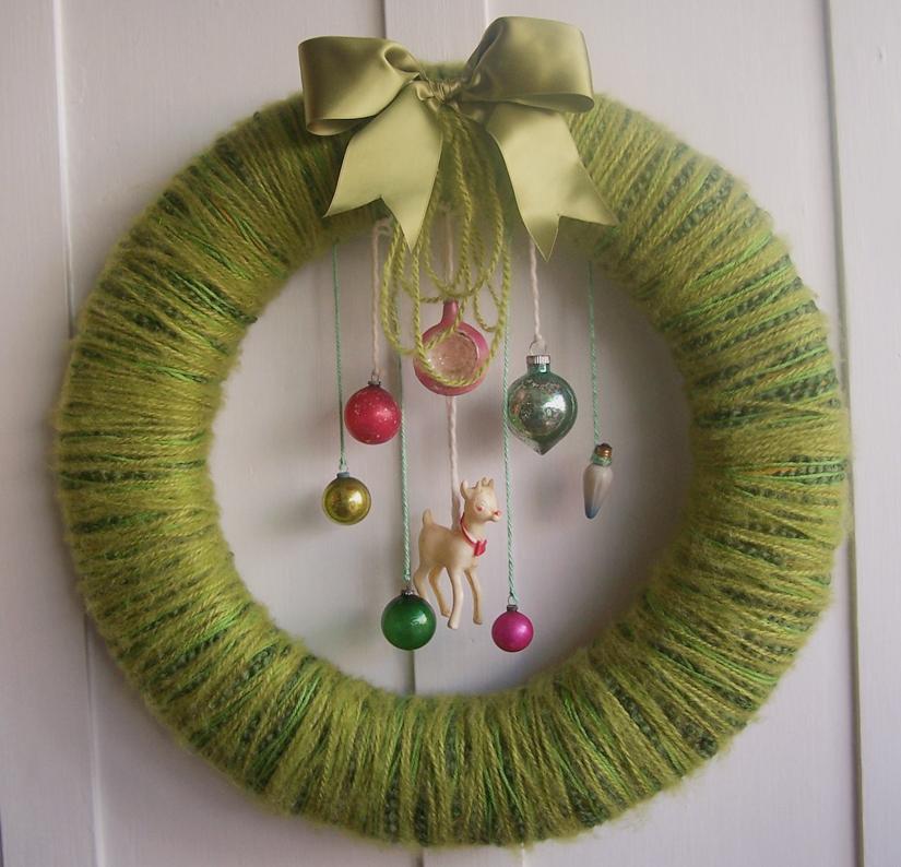 Doe & Yarn Wreath
