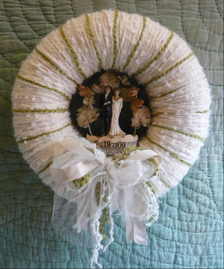 Sutton Wedding Wreath, custom