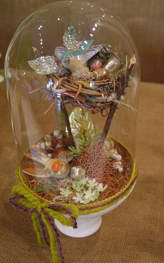 Holiday Nesting Bell Jar