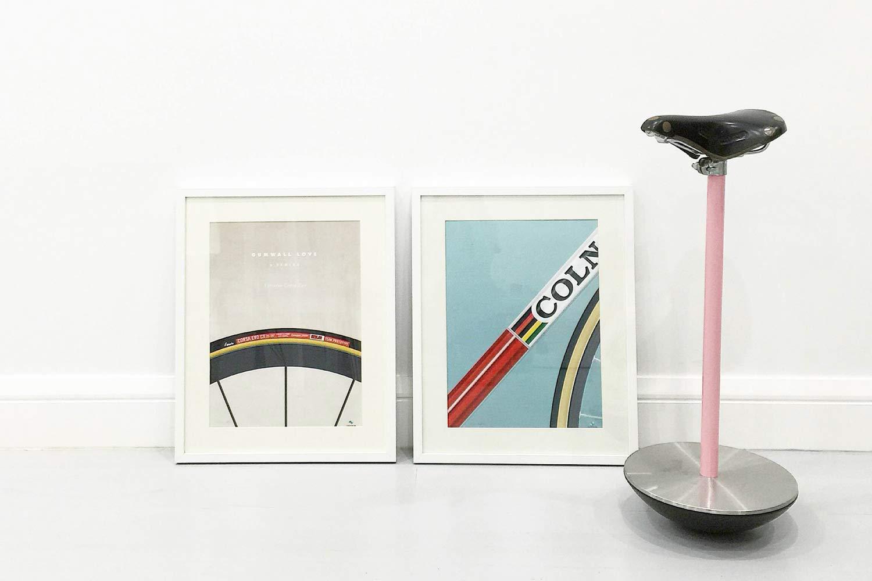 veloposters cycling prints framed photo @shirleytatt