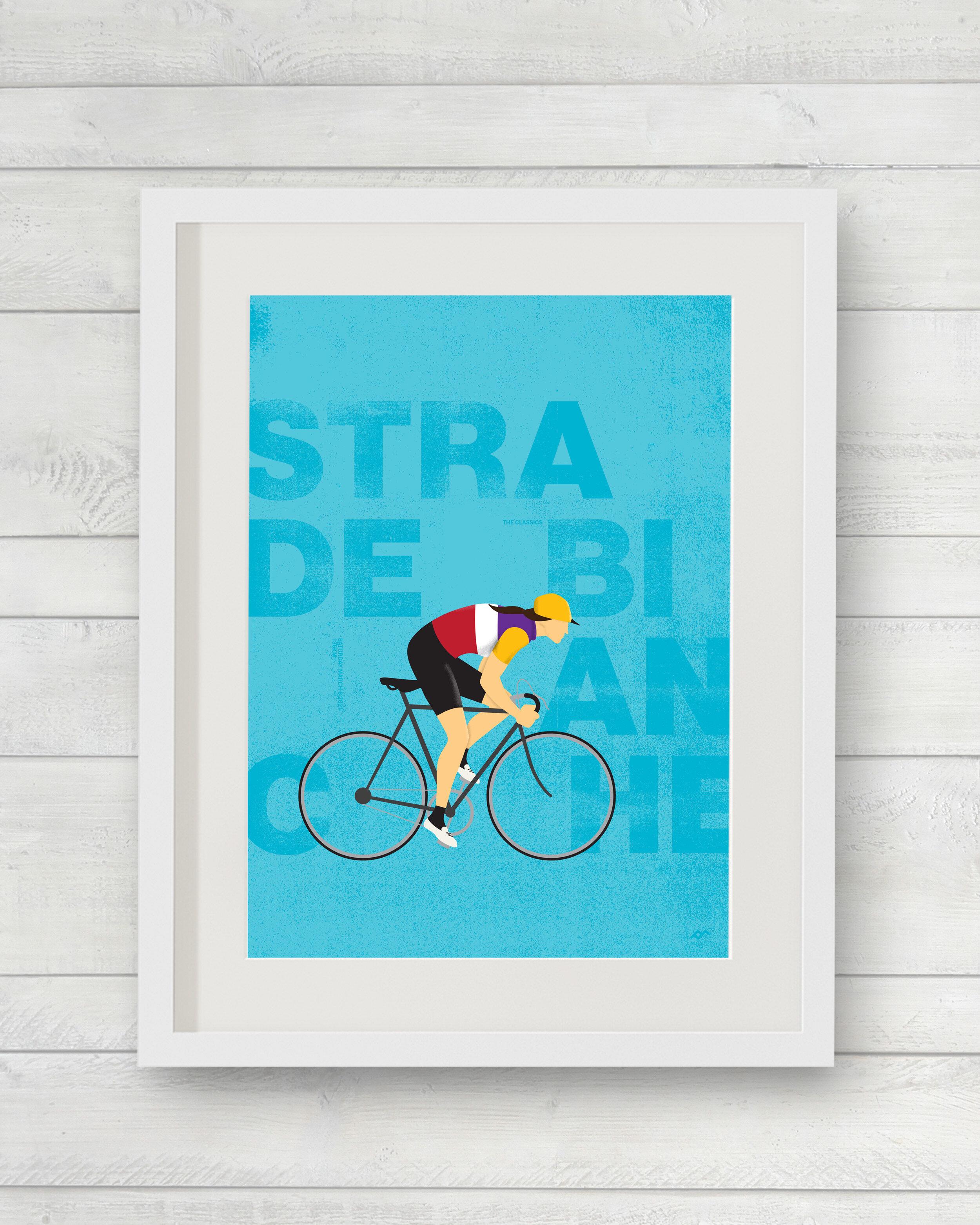 80733 Bicycle Evolution Wall Print POSTER AU