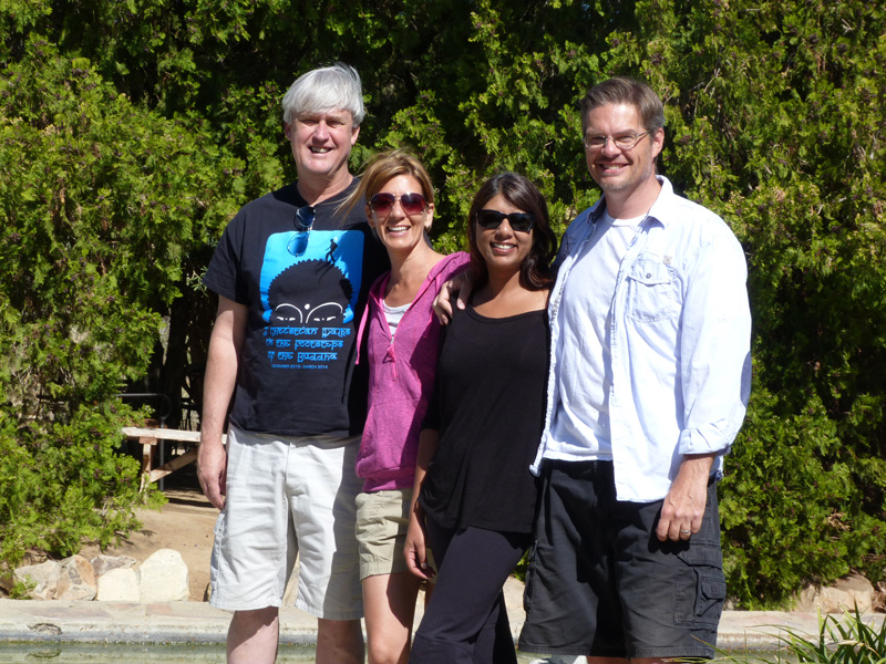 With friends and colleague Tim Barnes, USC Retreat Leader and Spiritual Enneagram Presenter