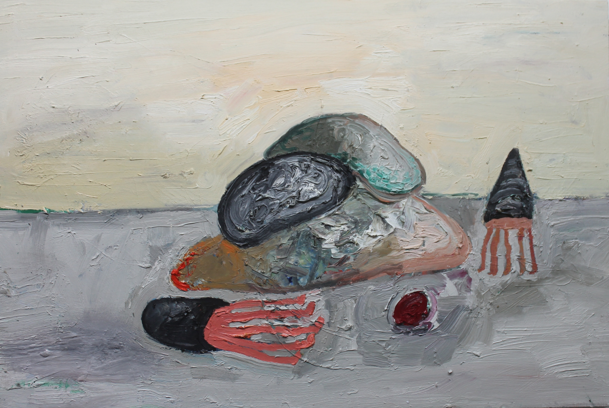 Untitled , 2013, oil on canvas, 24 x 36 inches
