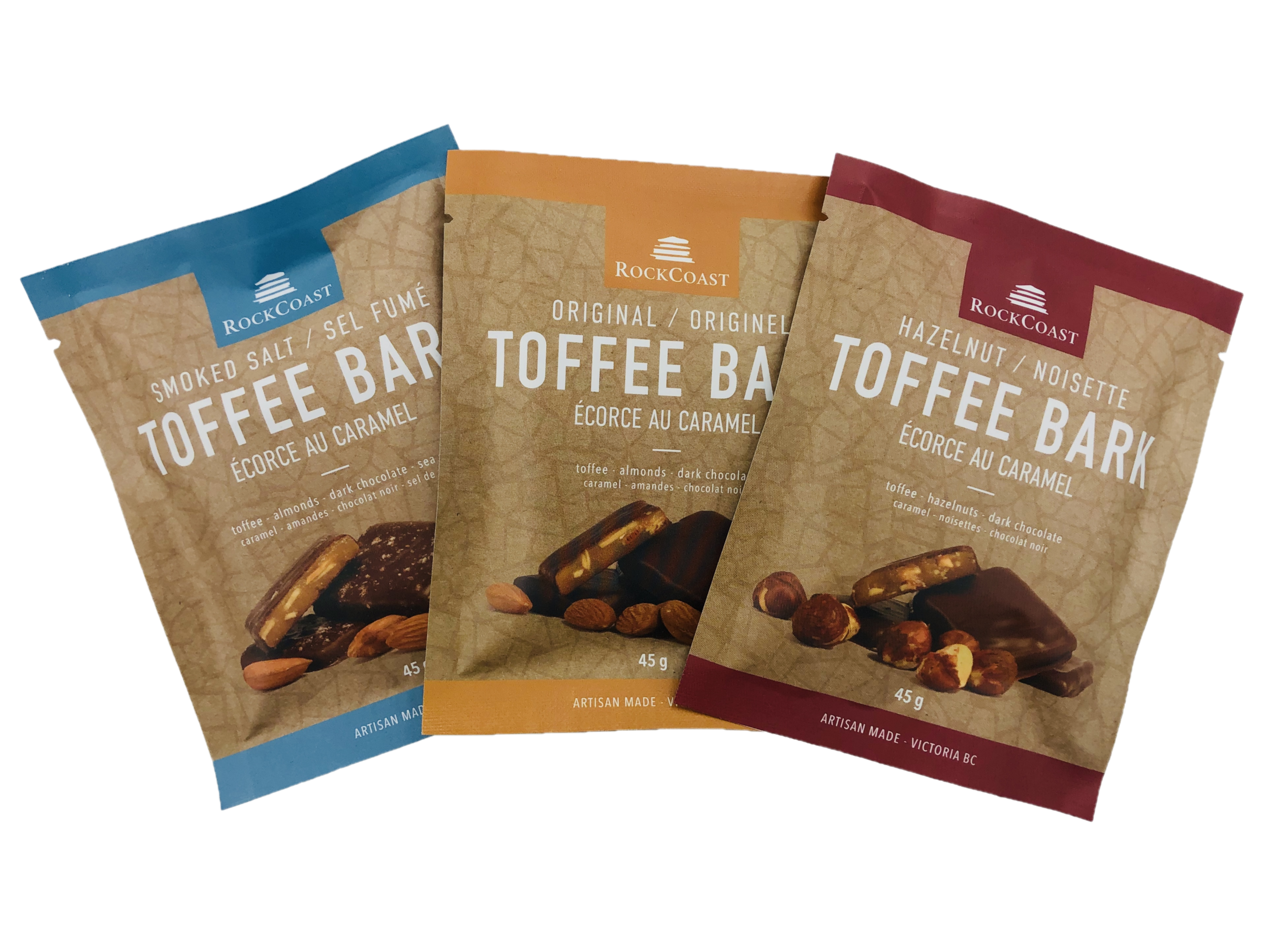 Toffee Bark 45g pieces