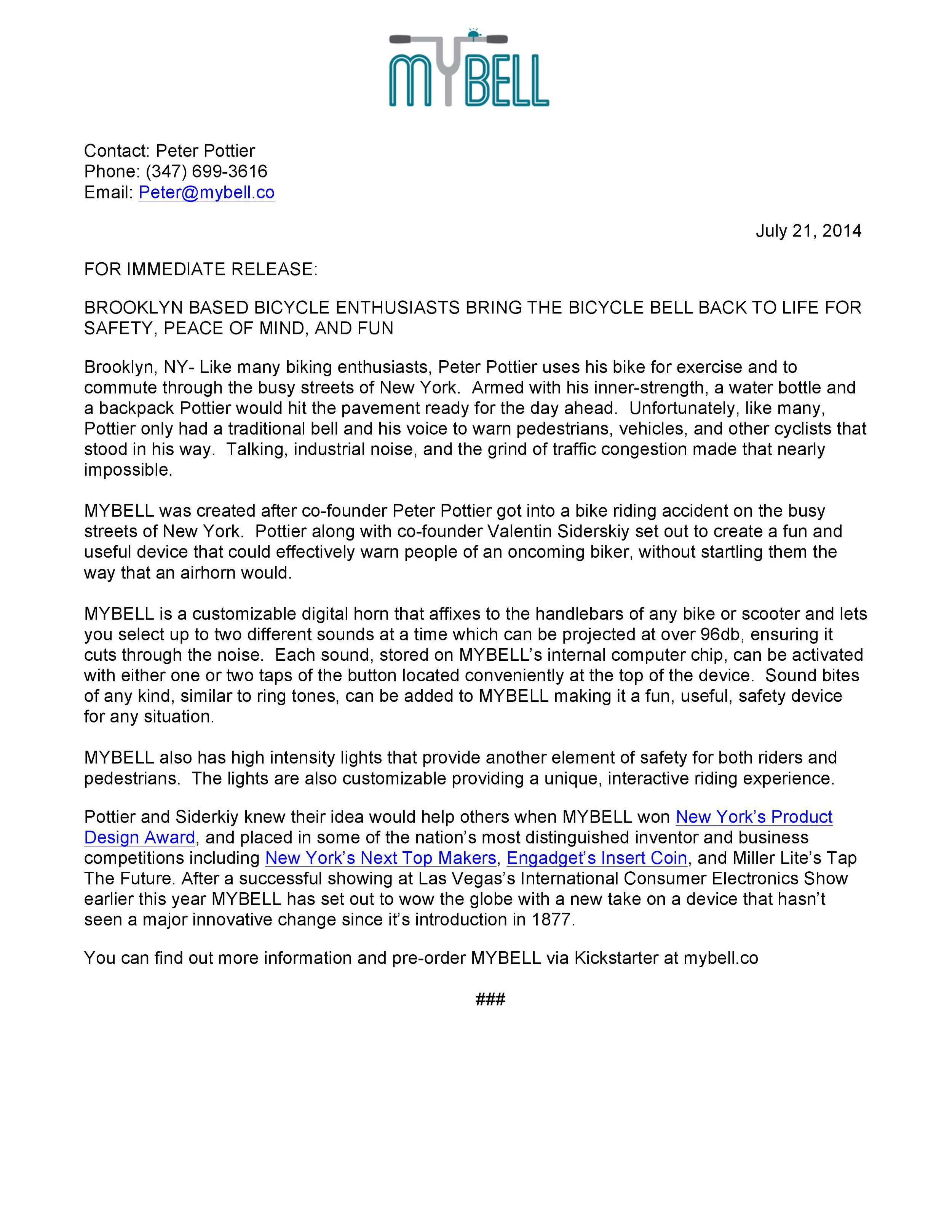 MYBELL Great For Safe Fitness Enthusiasts Press Release-page-001.jpg