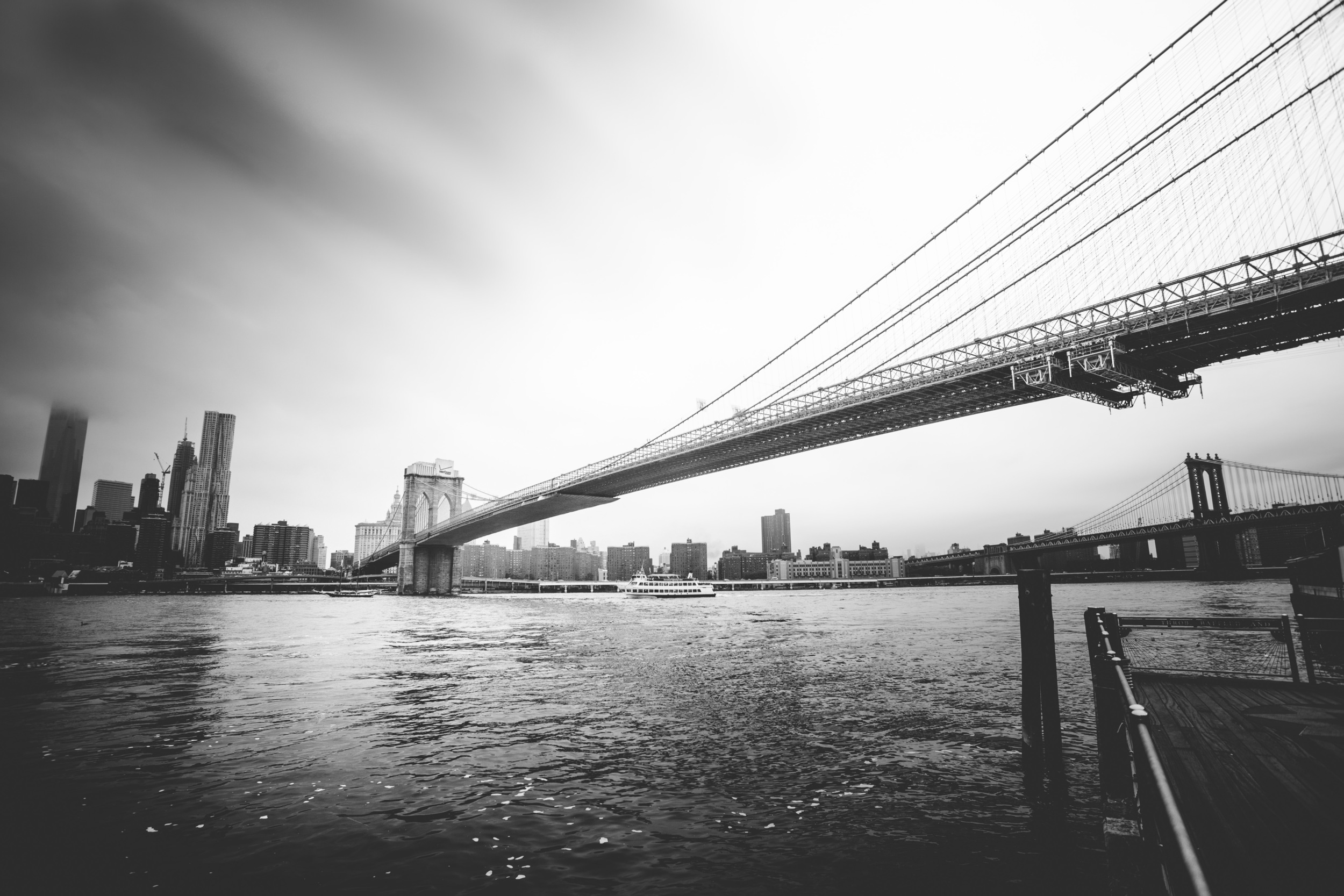 The Brookyln Bridge of course!