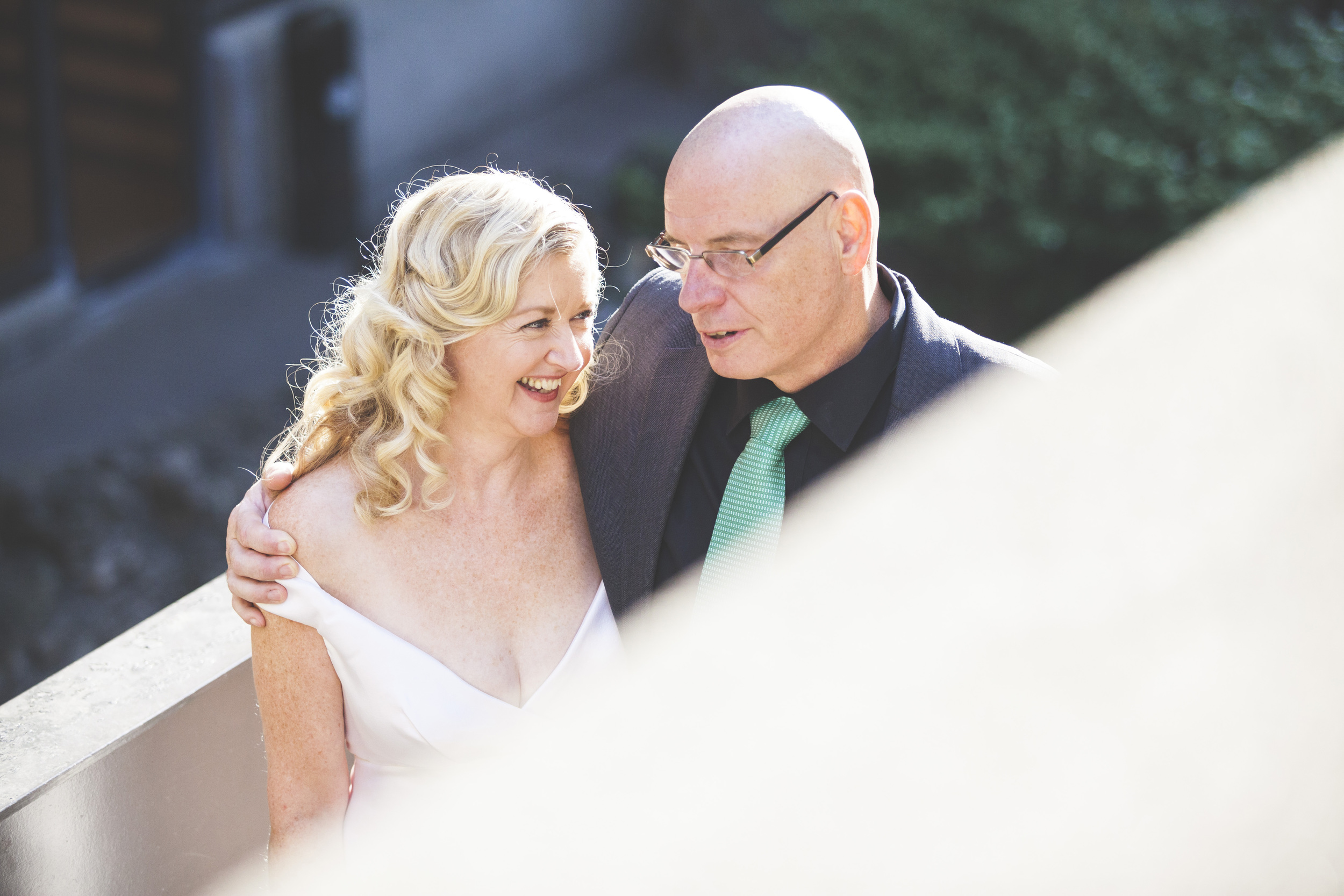 Wedding photos at the Sheraton hotel in Toronto.