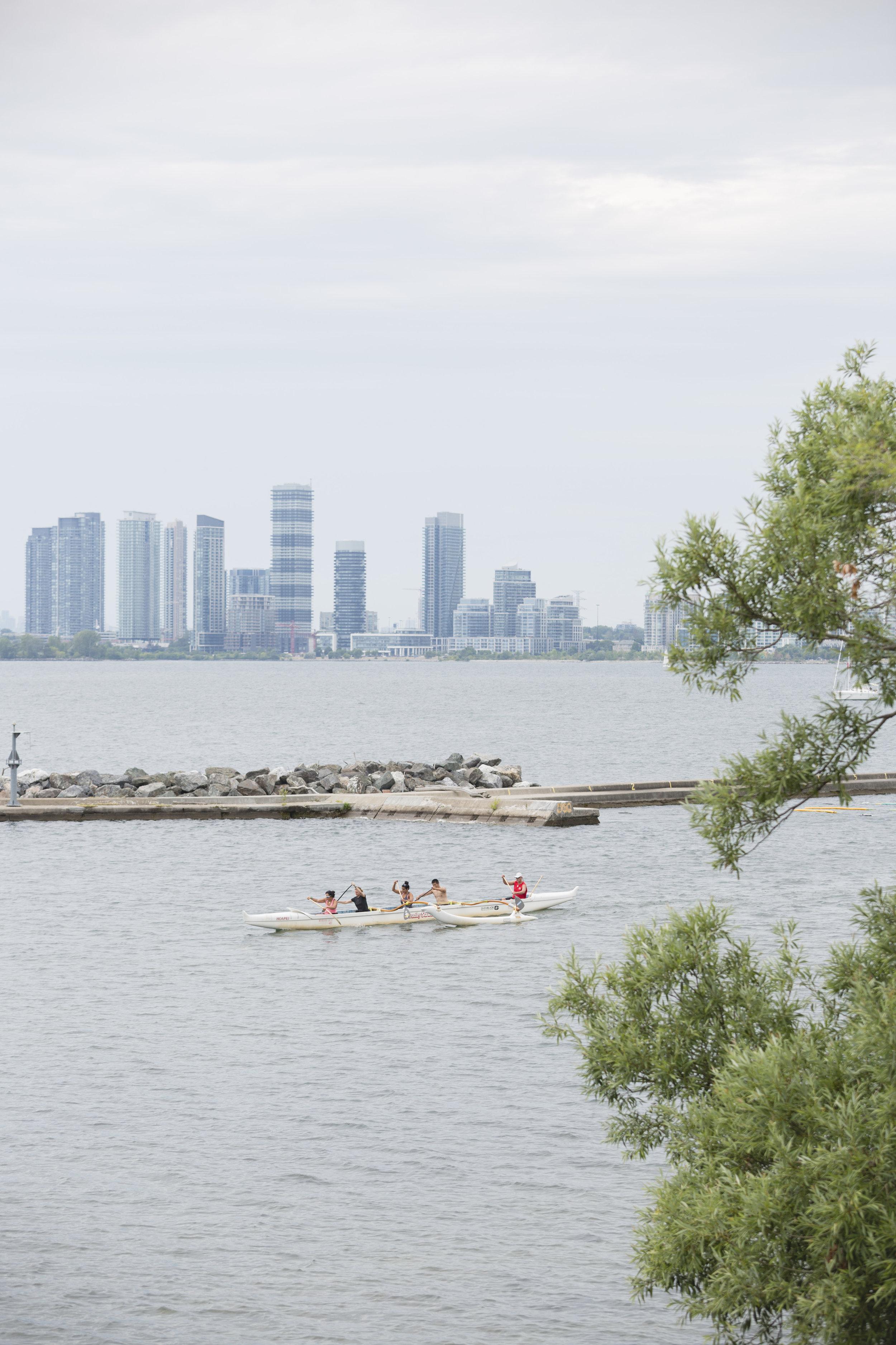 Rowing by the Toronto Argonaut Rowing Club