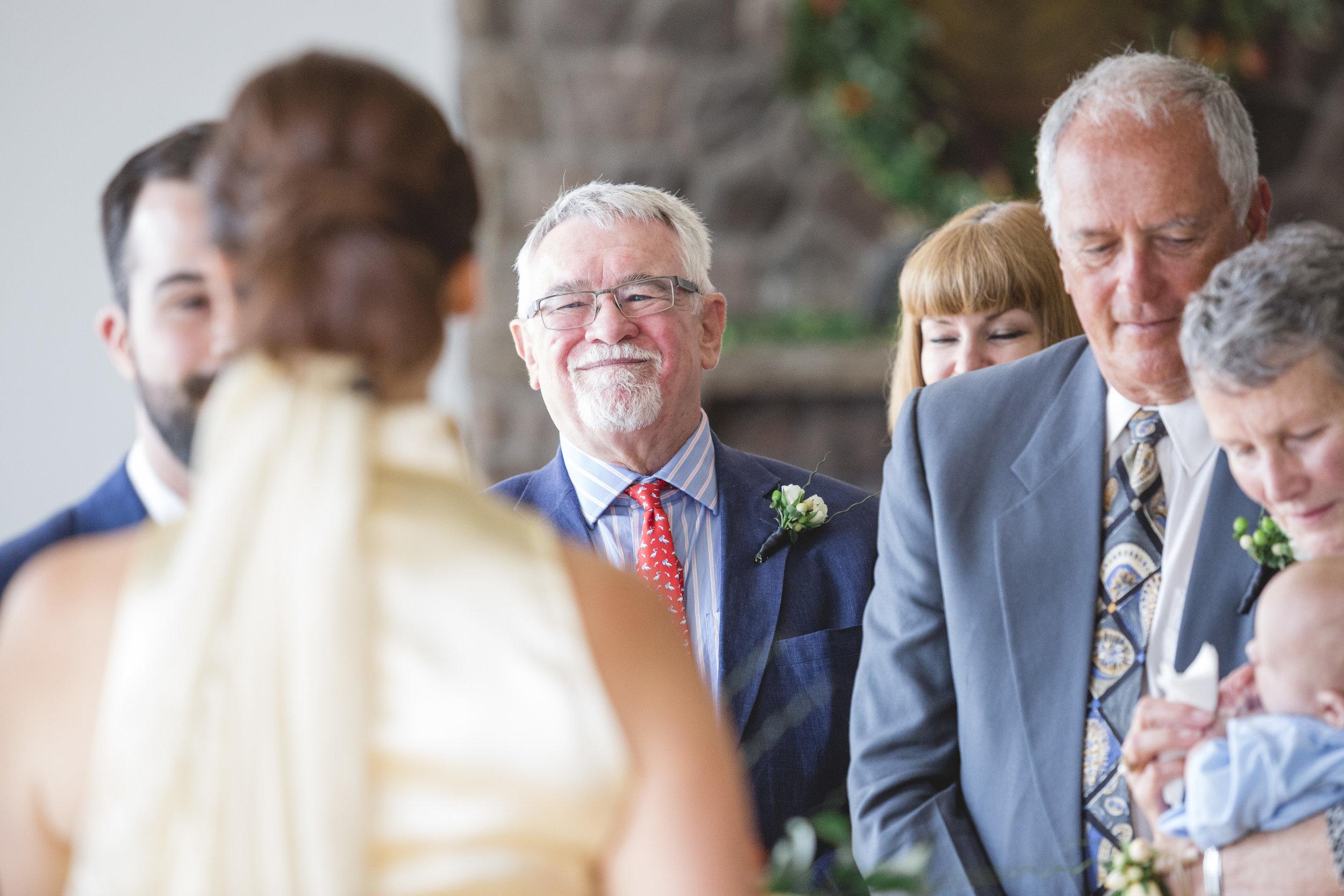 Wedding Ceremony Inside the Toronto Argonaut Rowing Club