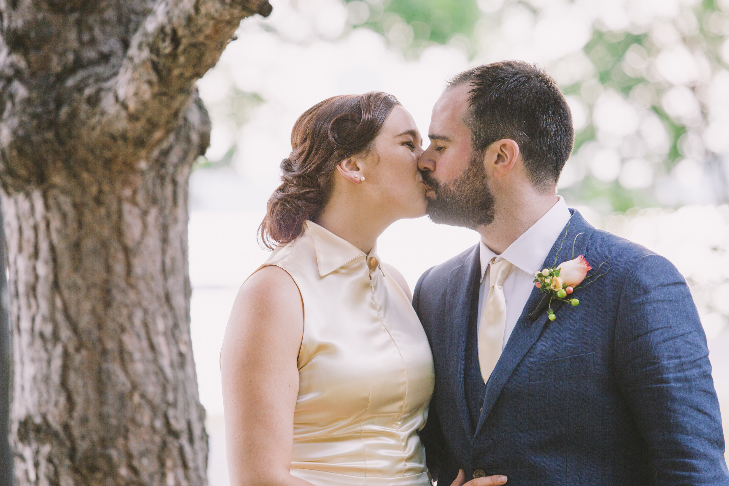 Wedding Portraits in the Park at the Toronto Argonaut Rowing Club