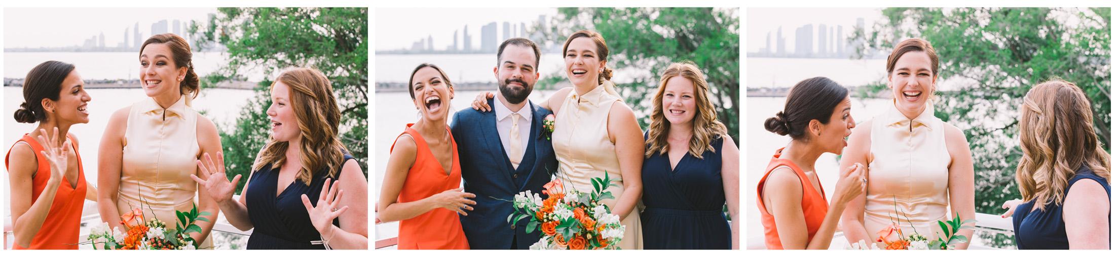 Wedding Party at the Toronto Argonaut Rowing Club