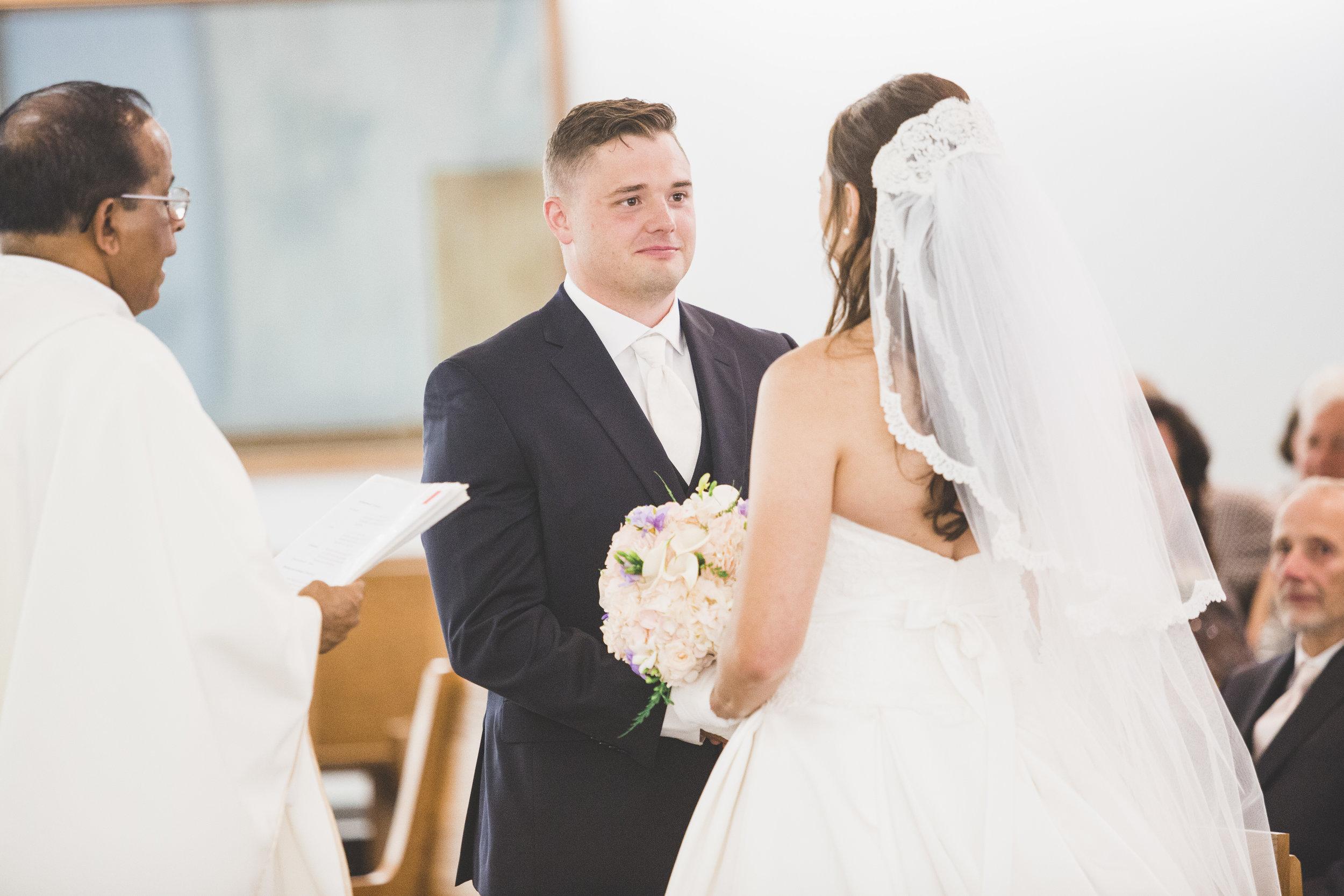 Wedding ceremony in Kincardine