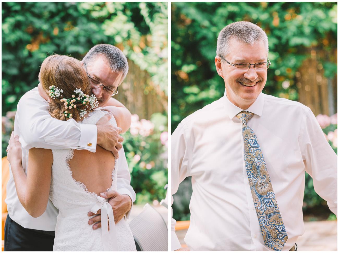 Father Daughter Wedding Photos