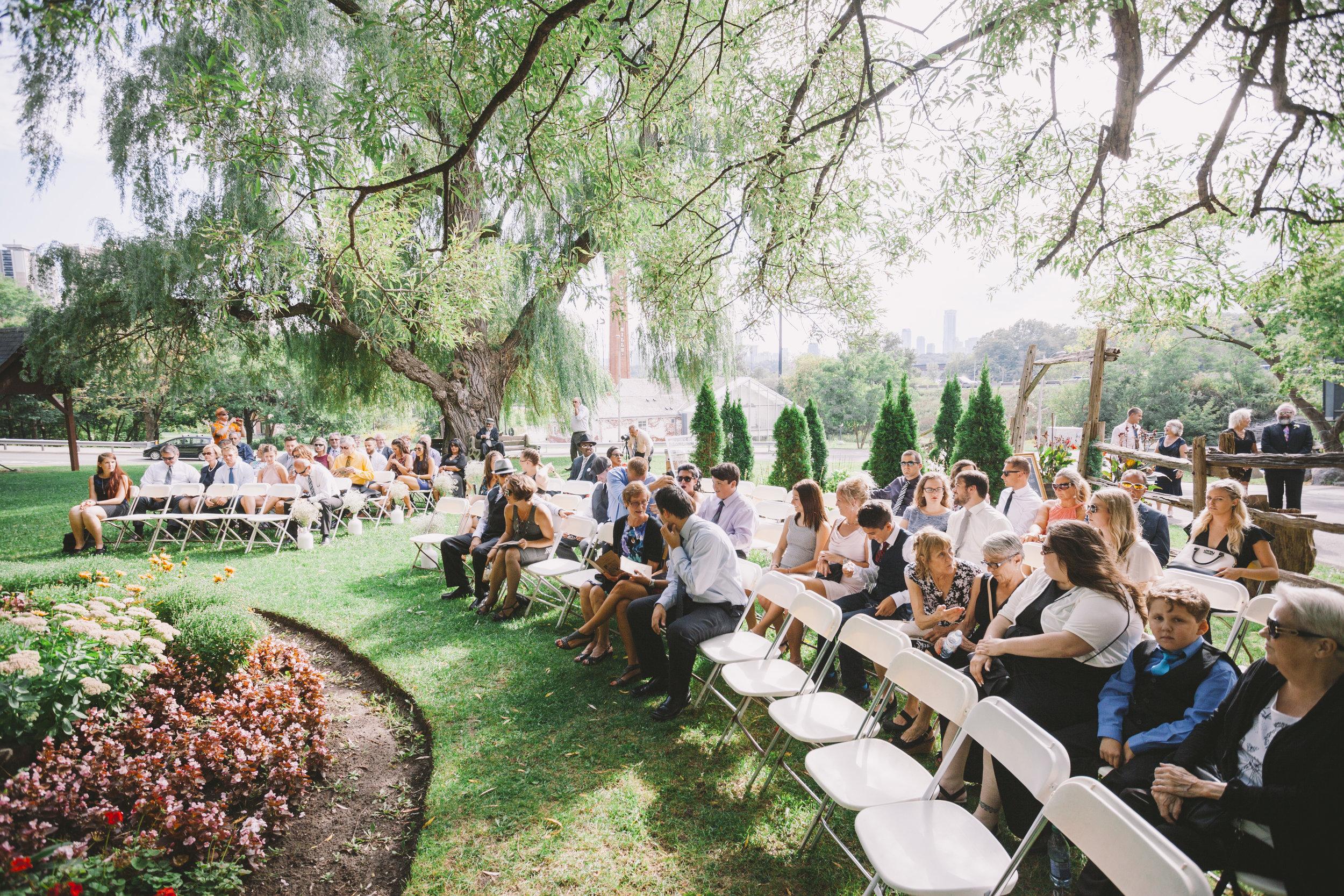 Wedding Ceremony at Fantasy Farm