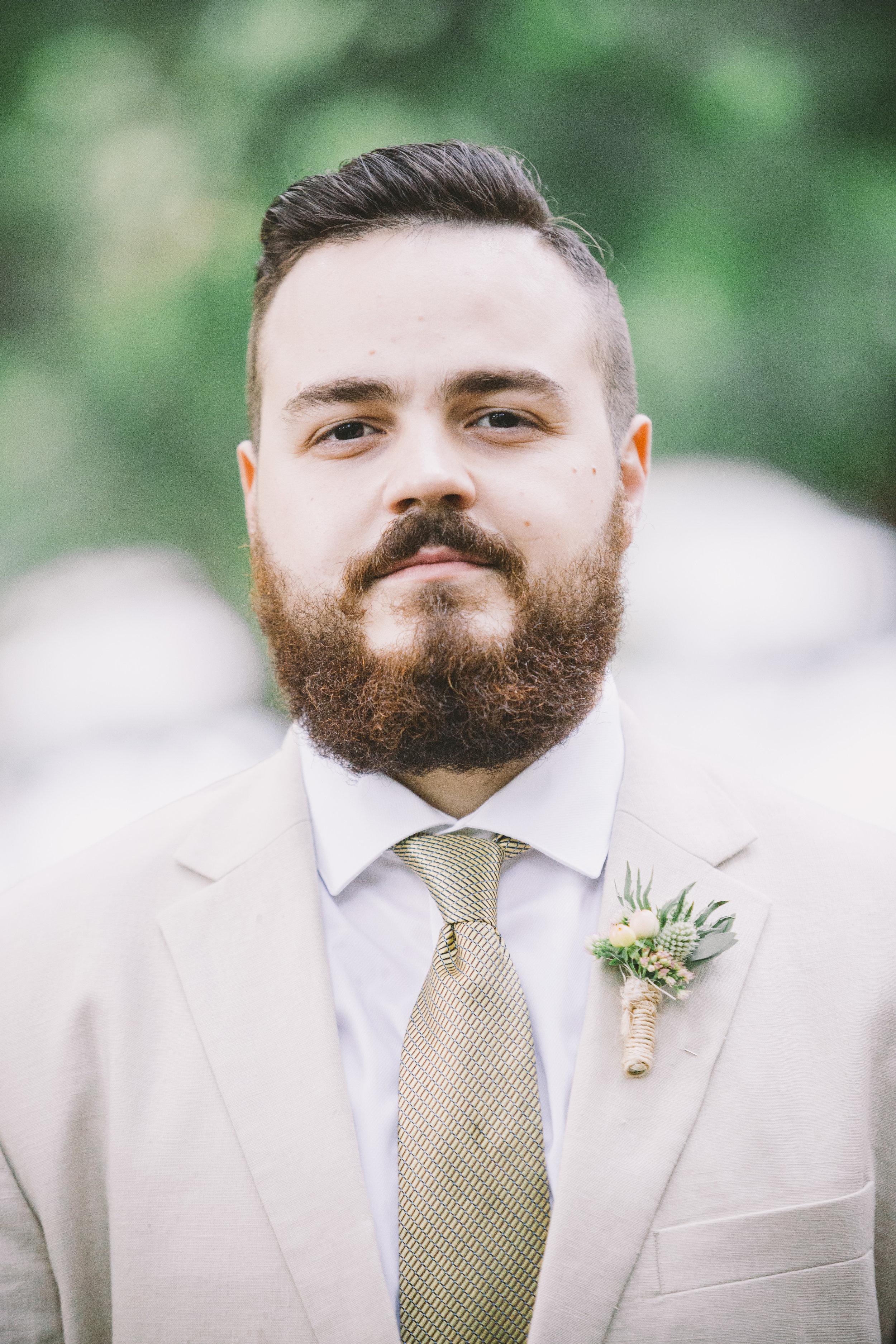 Groom Portrait Photo